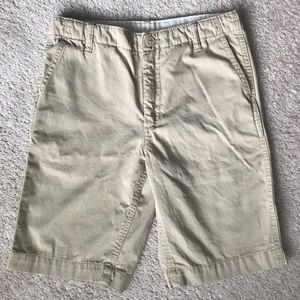 GAP boys dress khaki shorts